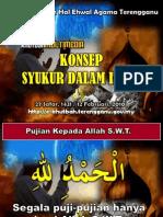 Konsep Syukur Dalam Islam1