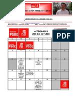 Agenda de Actividades 2009