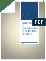 Metodologia de Investigacion en Derechos Humanos