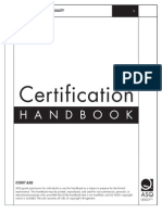 ASQ Certification Handbook