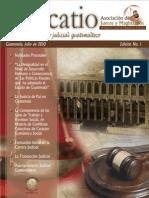 Revista Judicatio Edicion No 1