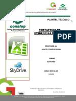 1.-Portafolio de Evidencias Excel Agv