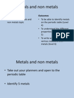 Metals and Non Metals Pp