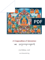 Compendium of Tibetan Buddhist Quotations Version 6