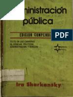Administracion Publica Edicion Compendiada