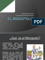 EL MONOPOLIO (Diapositivas)