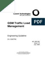 Telecommunication Traffic Load Management