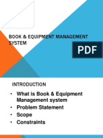 Book n equipment system