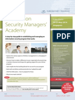 Information Security Managers' Academy