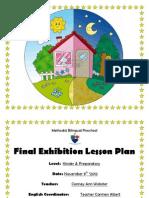 Exhibition Plan Methodist 2012