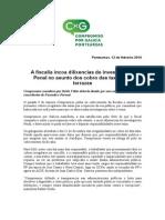 Compromiso anuncia a incoación de dilixencias de investigación Penal no cobro irregular das taxas por parte da fiscalía