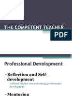 1-The Competent Teacher