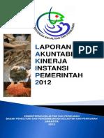 Lakip Balitbang Kp Ta 2012.