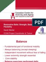 Restorative Balls for Strength Balance Flexibility