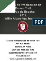 Curso de Español I, 2012