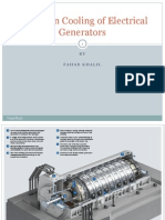 Hydrogen Cooling of Electrical Generators