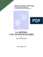 La Artemia y Su Cultivo