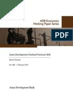 Asian Development Outlook Forecast Skill