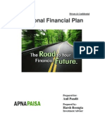 Anil's Financial Planning by Apnapaisa