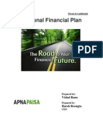 Vishal's Financial Planning by Apnapaisa