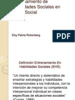 Entrenamiento de Habilidades Sociales en Fobia Social