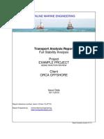 Transport Analysis Report