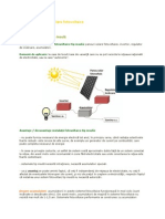 Tipuri de instalații solare fotovoltaice