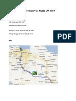 Peta Transportasi Mubes LPP 2014