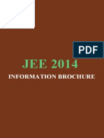 Jee Brochure 2014