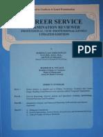 Career Service Examination Reviewer 2011 Civil Service Exam