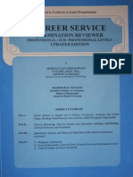 CAREER SERVICE Examination Reviewer 2011 - CIVIL SERVICE EXAM