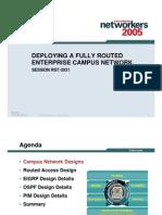 Net Design Guidance