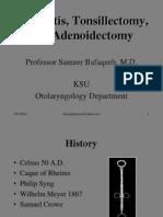 A de No Tonsillectomy