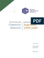 Comercio Argentina 1999 Al 2009