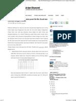 [Tutorial Eviews] Import Data Panel File Ms. Excell Dan Estimasi Dengan Eviews ~ Melek Analisis Sosial Dan Ekonomi