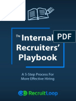 Internal Recruiters Playbook