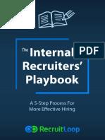 Internal Recruiters Playbook