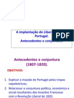 Revolução Liberal Portuguesa ppt