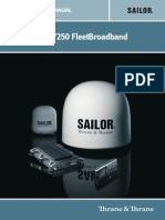 SAILOR FBB 500 Installation Guide