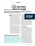 Aides Et Act Up-Paris Glissent Dans Le Rouge