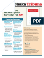 Dhaka Tribune National Opinion Survey Jan-Feb 2014
