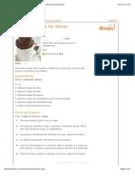 Imprimir Receita Bolo de Caneca No Micro-Ondas - Receitas Do Allrecipes Brasil
