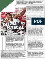 NME Cover Dizzee Rascal