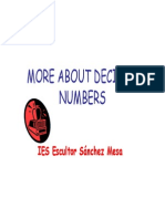 More About Decimal Numbers