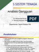 Analisis Gangguan Hubung Singkat (1)