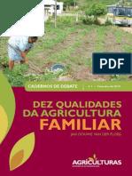 Dez Qualidades da Agricultura Familiar