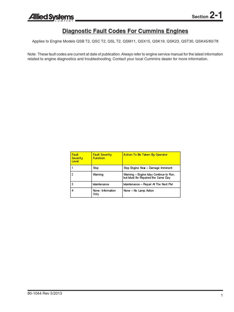 Cummins Qsm11 Service Manual Ebook Com Mariachilatemodeldodgedensoalternatorwiringdiagram Pdf 2 Array Fault Code Cumminc Rh Es Scribd