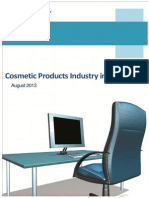 Cosmetic Products Industry in India - Full Report