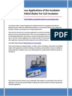 Orbital Shaker for Co2 Incubator