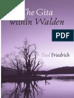 The Gita Within Walden